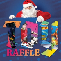 Christmas Toy Raffle square