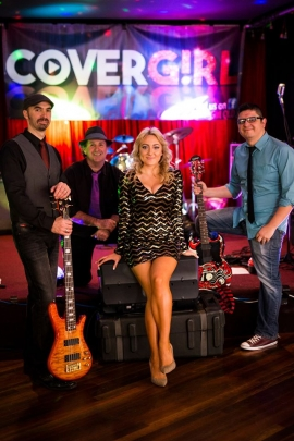 Cover Girl Sitting Band