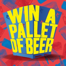 Win a Pallet of Beer square