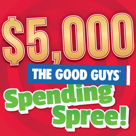 good guys spending spree square