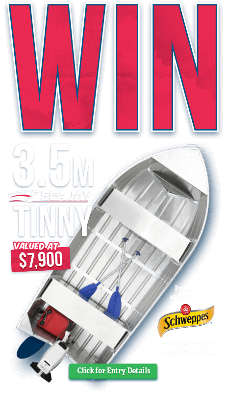 Win a Tinny Members Promtion